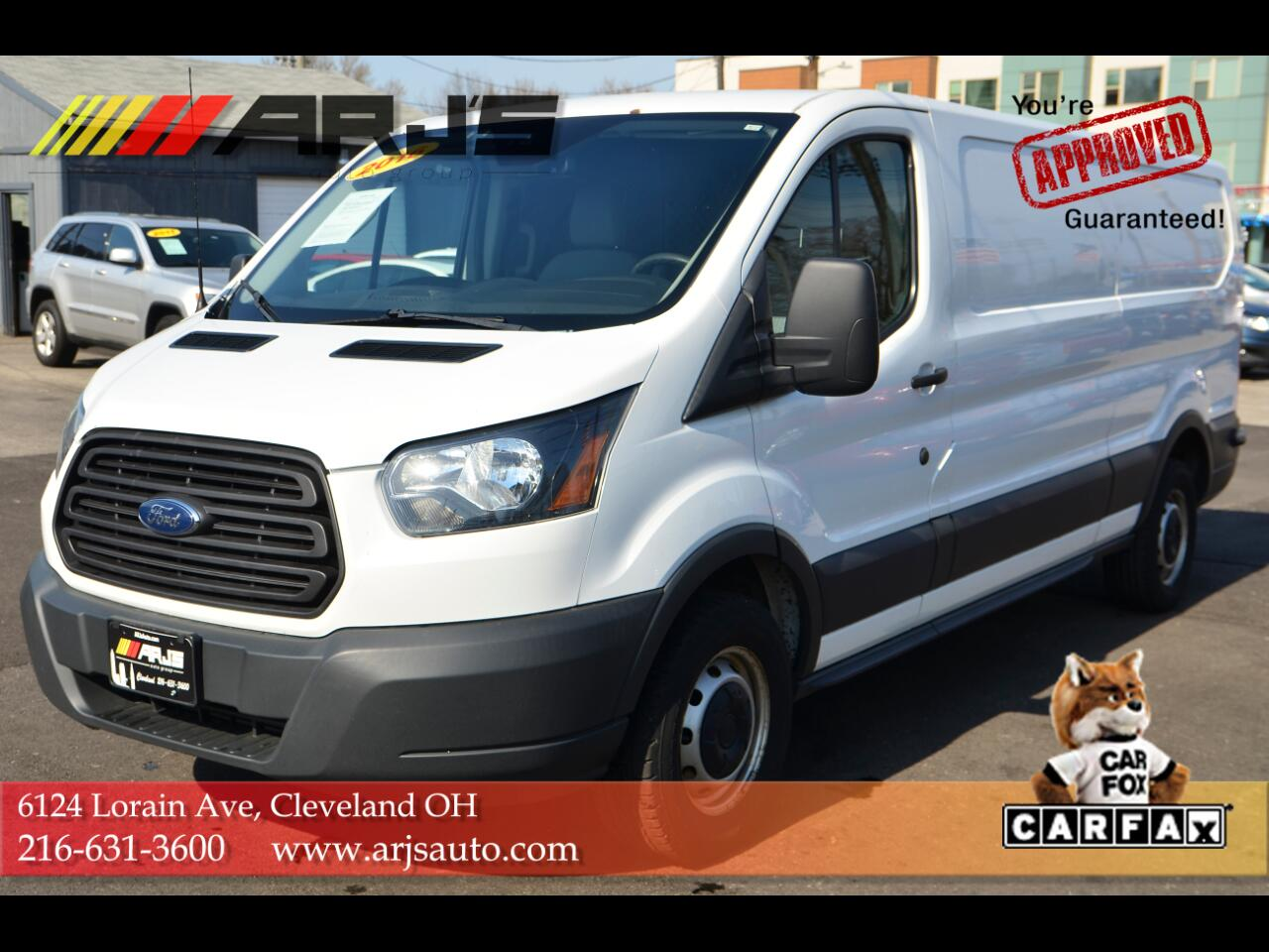 "Ford Transit Cargo Van T-150 148"" Low Rf 8600 GVWR Swing-Out RH Dr 2016"