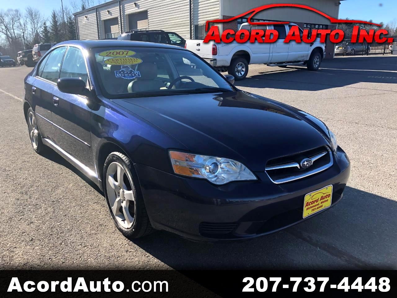 2007 Subaru Legacy 2.5 Limited
