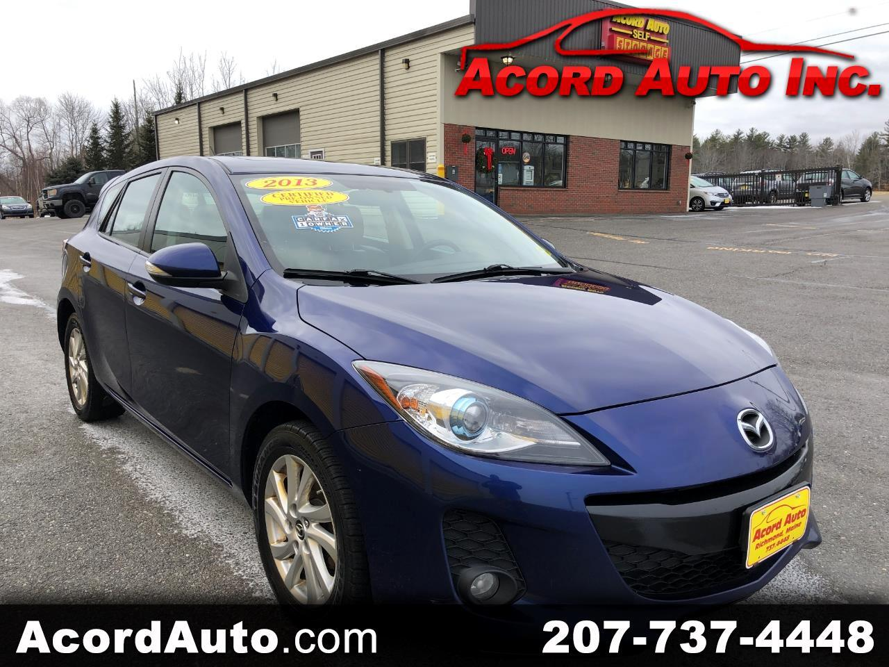 Mazda MAZDA3 i Grand Touring MT 5-Door 2013