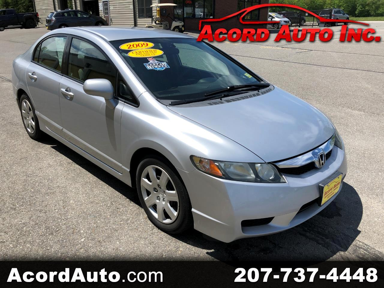 Honda Civic LX Sedan 5-Speed MT 2009
