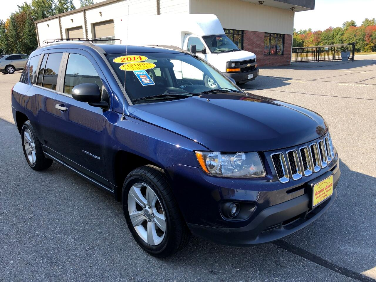 Jeep Compass 4WD 4dr Sport 2014