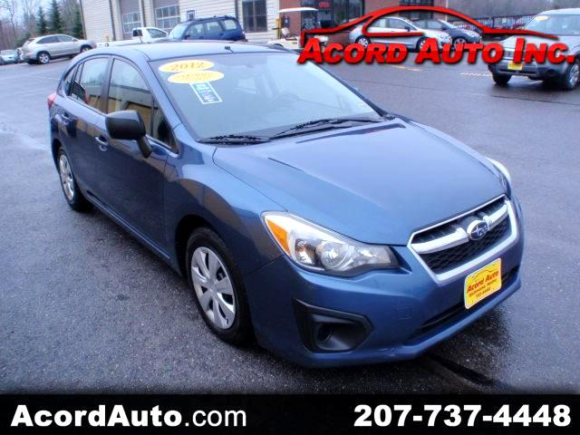 2012 Subaru Impreza Base 5-Door