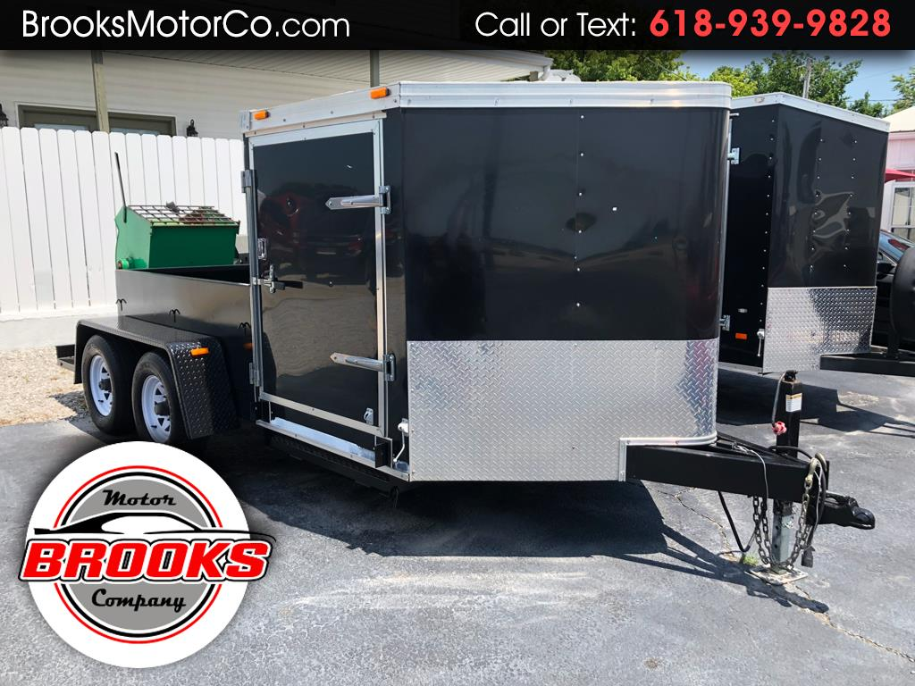 2011 Haulmark Enclosed Trailer HALF BED / HALF ENCLOSED