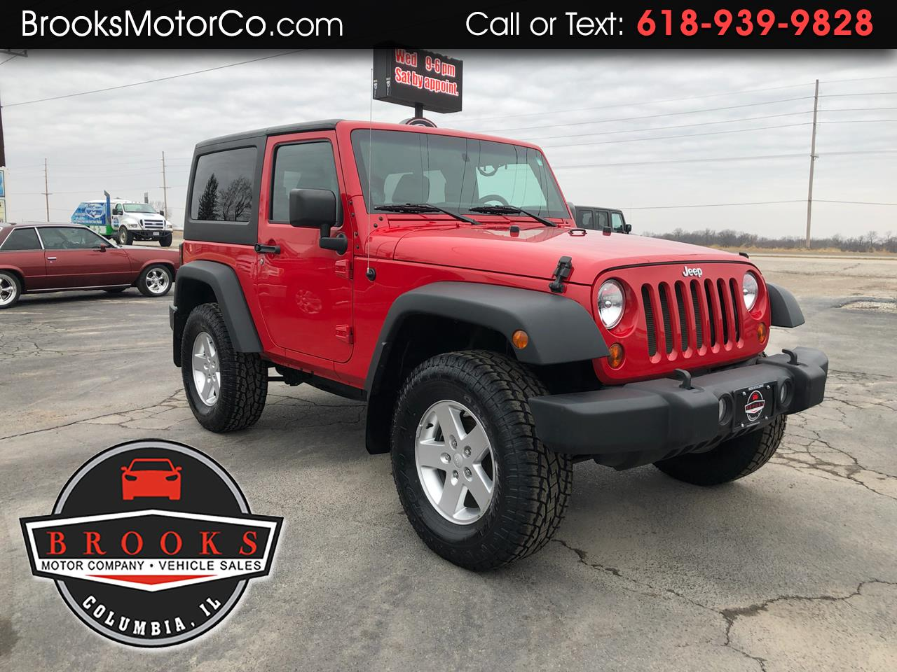 2014 Jeep Wrangler 4WD 2dr Sport