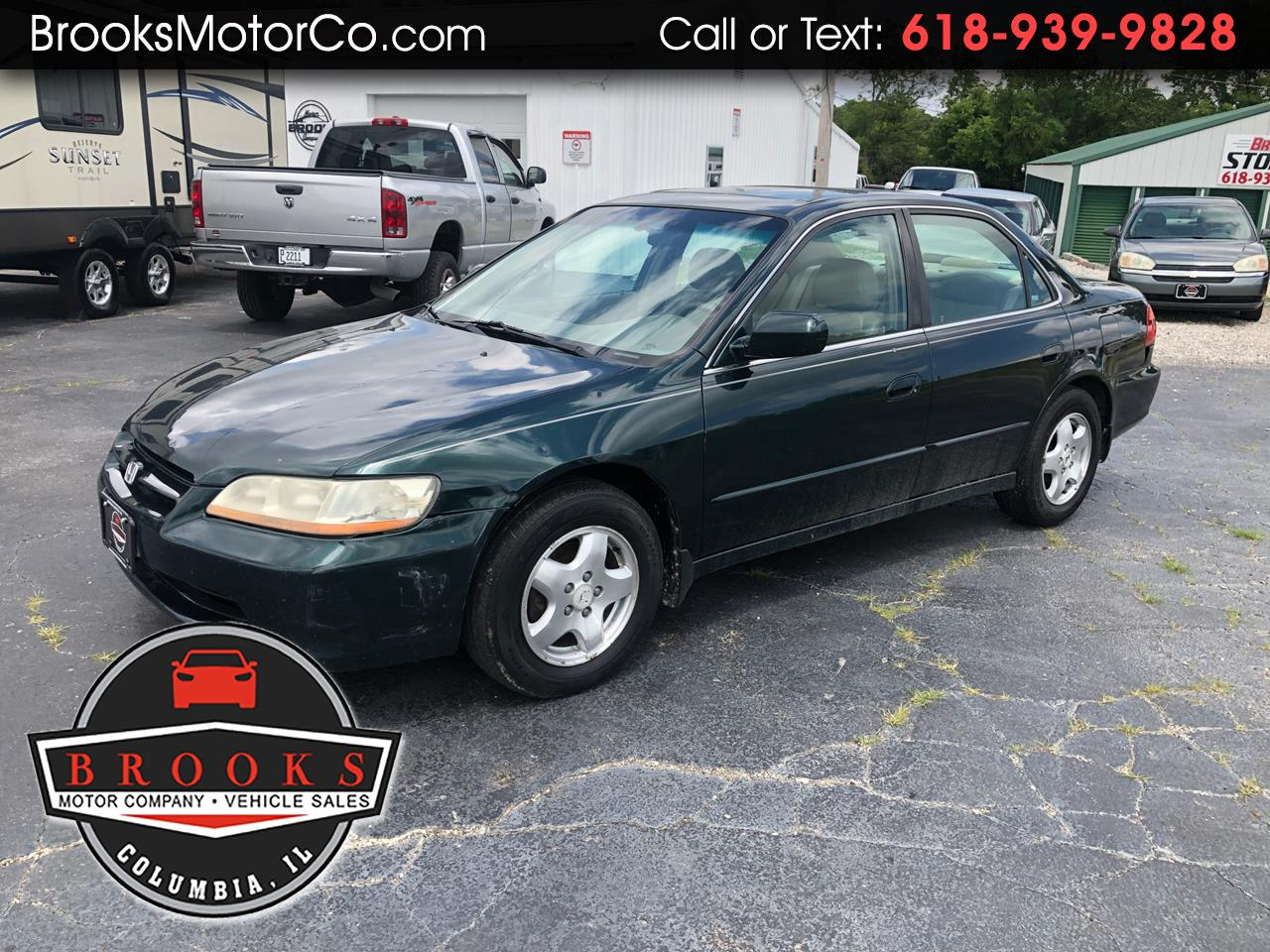 2000 Honda Accord Sdn 4dr Sdn EX Auto V6 W/Leather