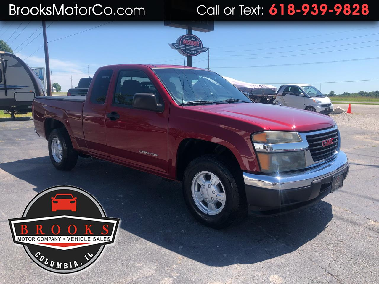 "2005 GMC Canyon Ext Cab 125.9"" WB SLE Z85"