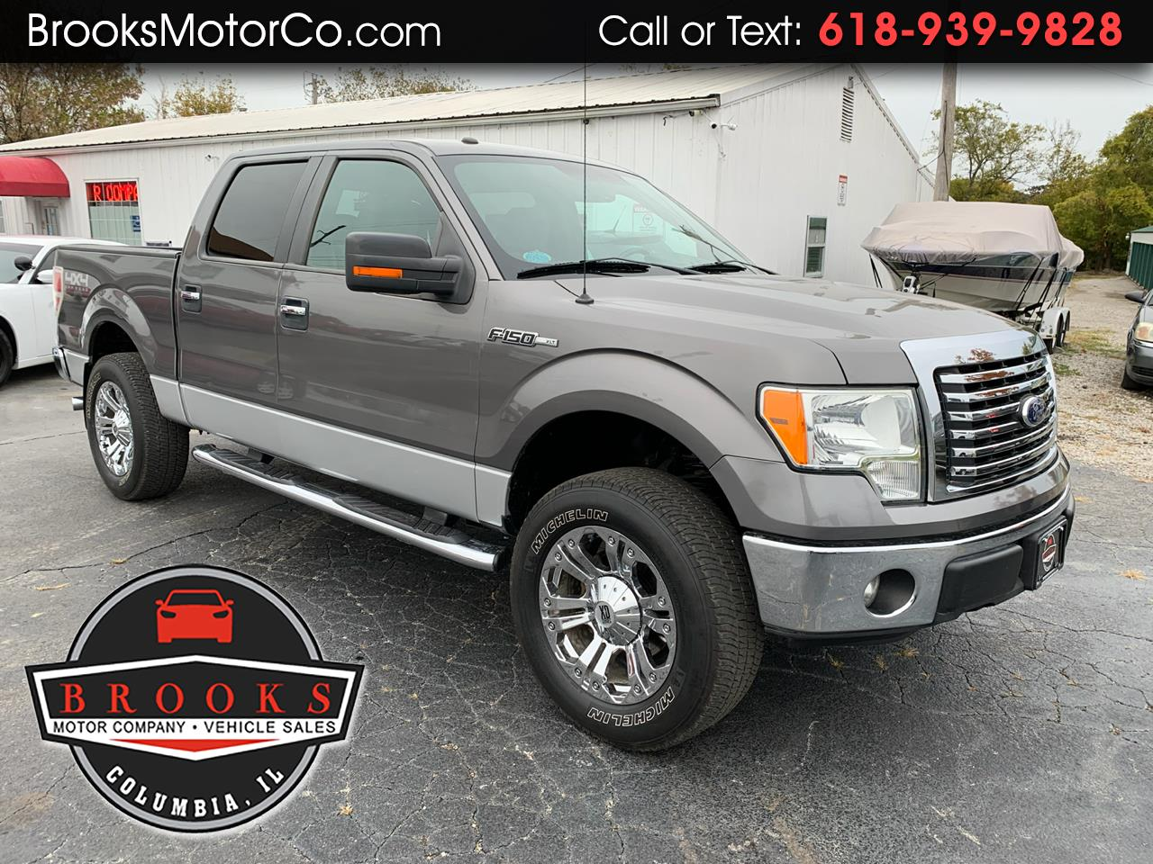 "Ford F-150 4WD SuperCrew 139"" XLT 2011"