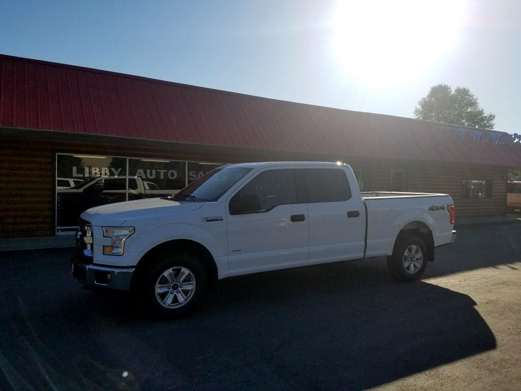"2016 Ford F-150 4WD SuperCab 163"" XLT"