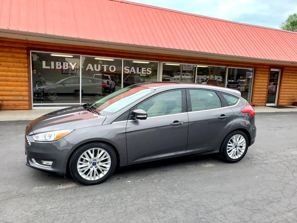Ford Focus Titanium Hatch 2018