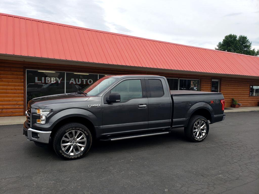 "2015 Ford F-150 4WD SuperCab 163"" XLT"