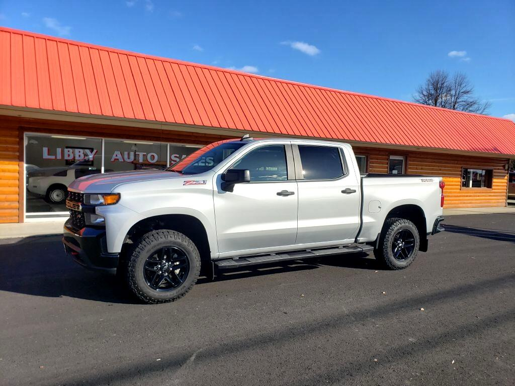 Chevrolet Silverado 1500 Custom Trail Boss Crew Cab Short Box 4WD 2019