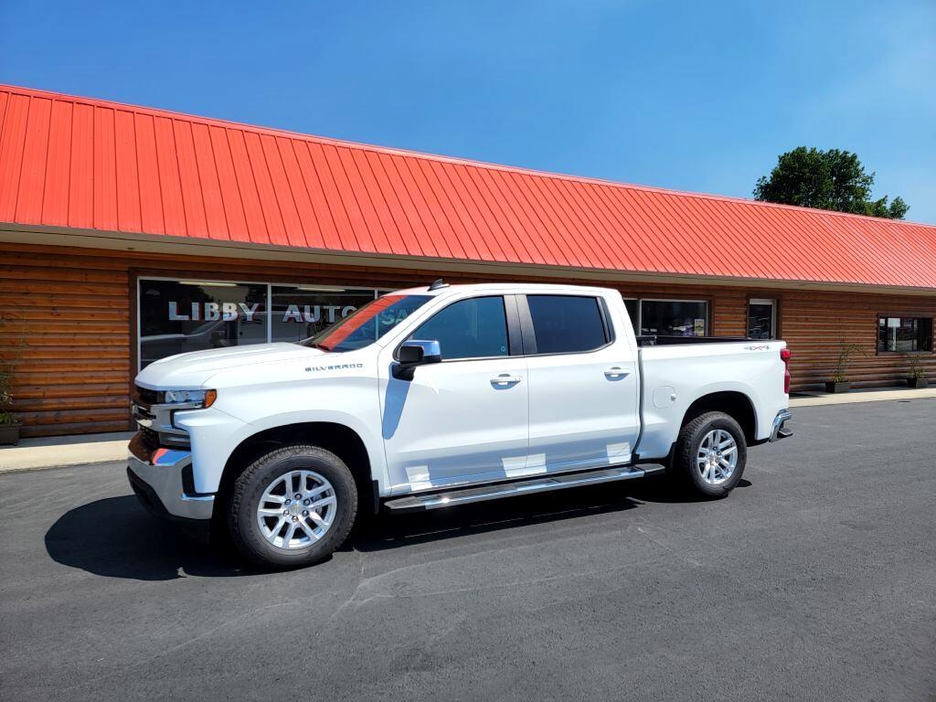 Chevrolet Silverado 1500 LT Crew Cab 4WD 2021