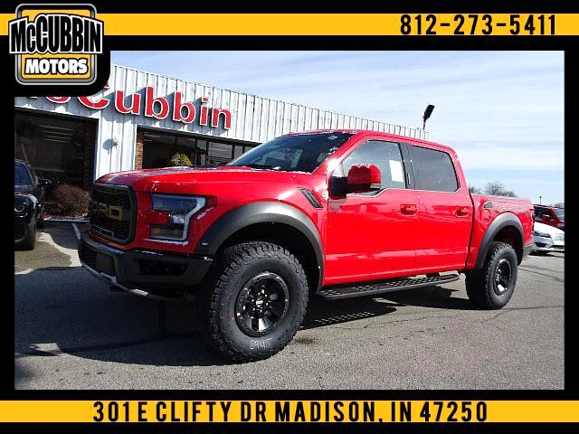2018 Ford F-150 Raptor SuperCrew 4WD