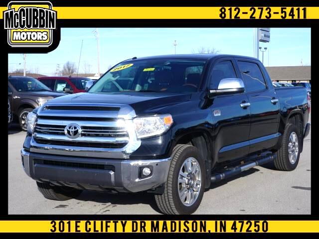 Toyota Tundra 4WD 1794 Edition CrewMax 5.5' Bed 5.7L FFV (Natl) 2017