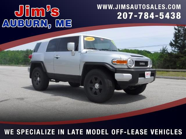 2008 Toyota FJ Cruiser 4WD AT