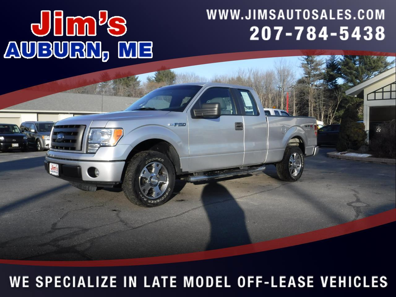 "2010 Ford F-150 2WD SuperCab 145"" STX"