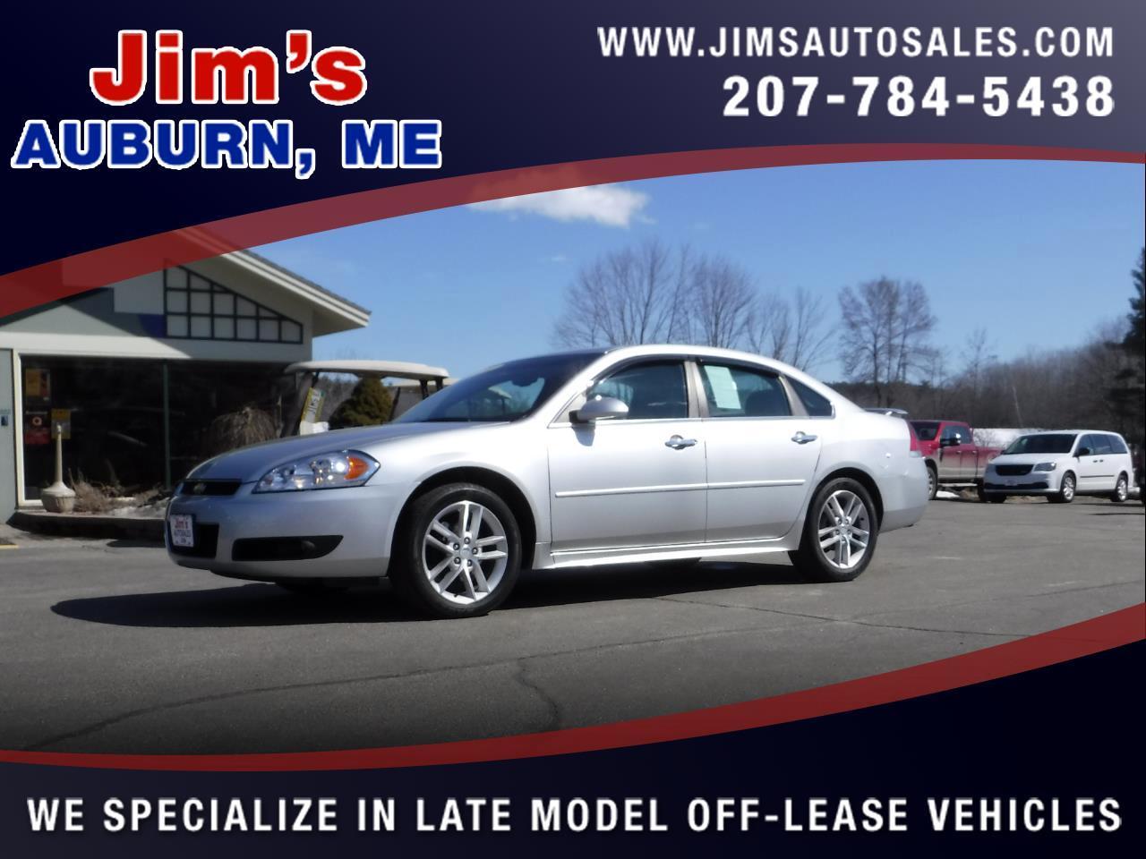 2012 Chevrolet Impala 4dr Sdn LTZ