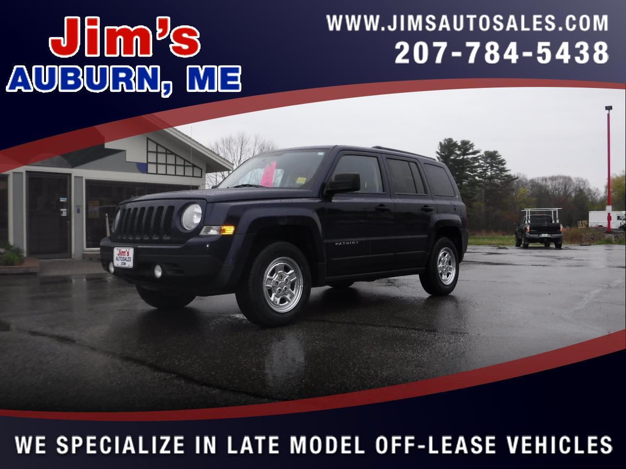 2012 Jeep Patriot 4WD 4dr Sport