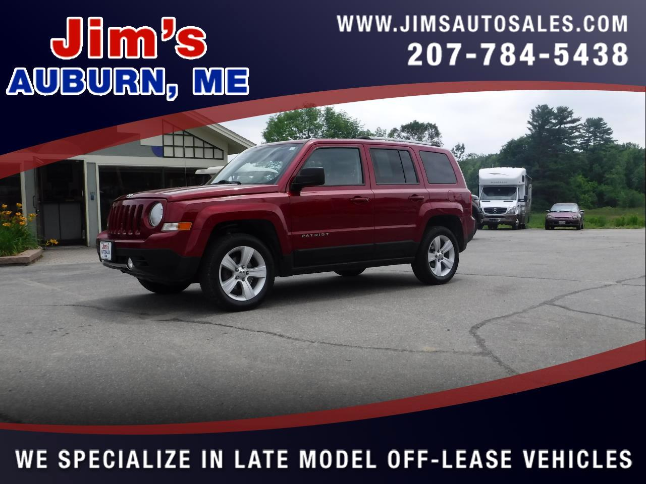 2011 Jeep Patriot 4WD 4dr Latitude X