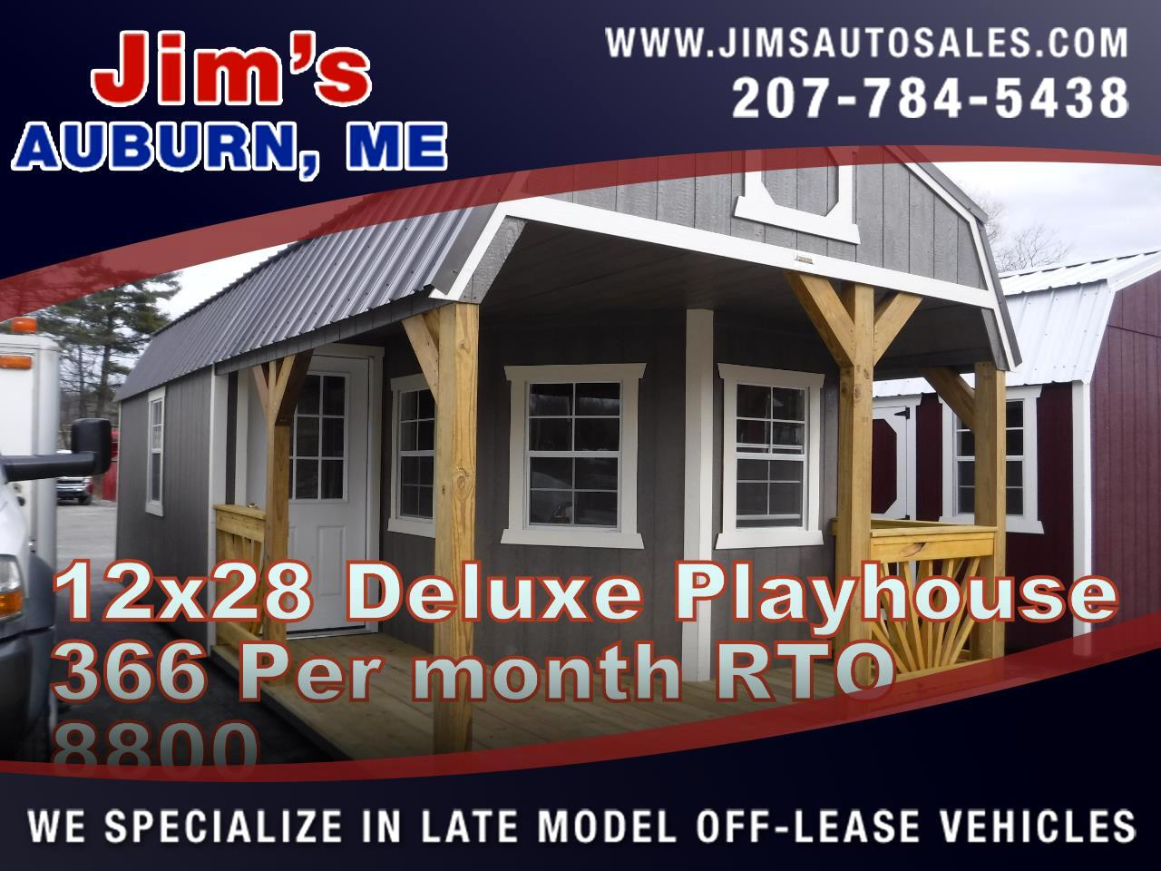 Old Hickory Buildings Deluxe Playhouse  2019