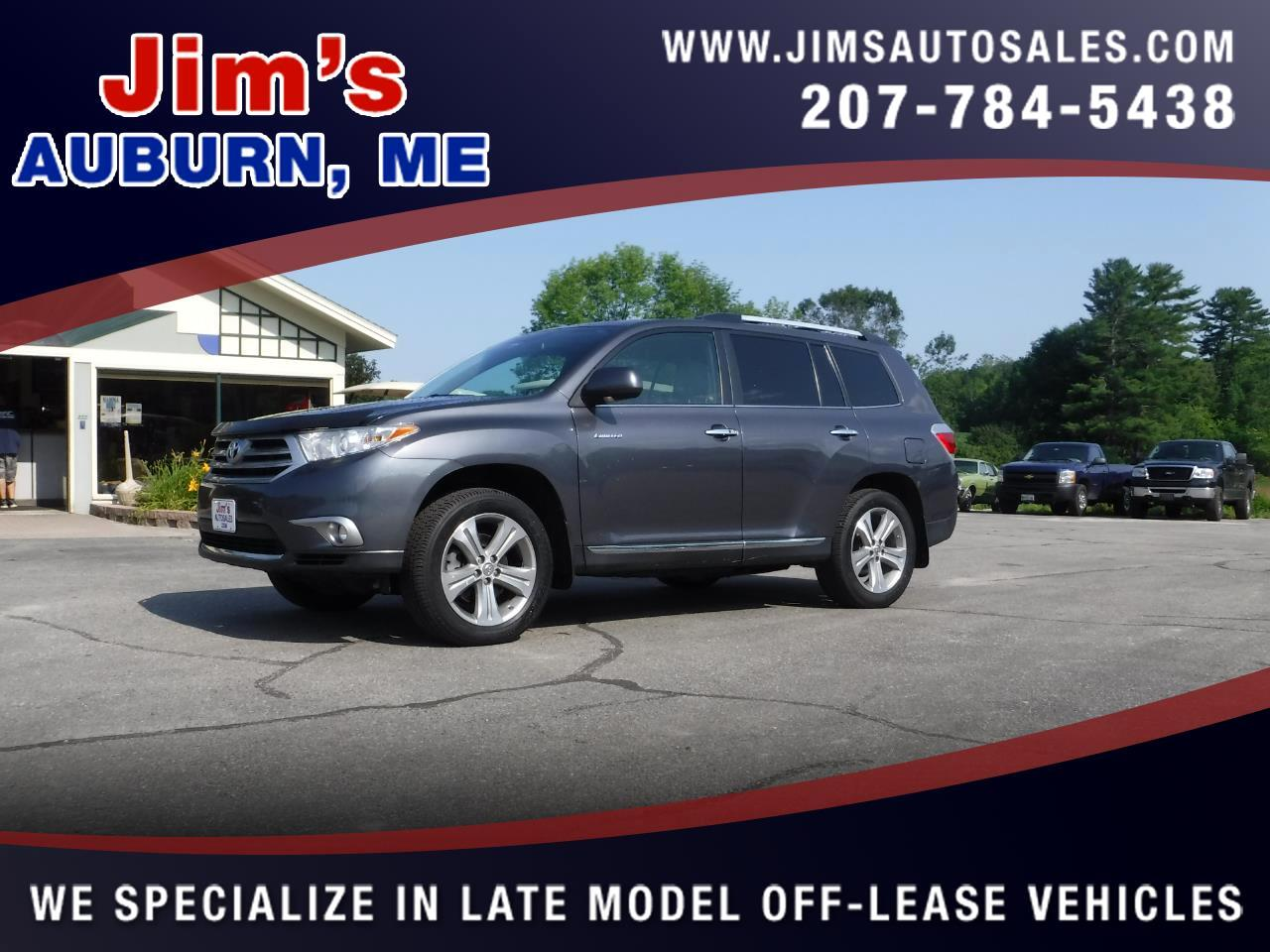 2013 Toyota Highlander 4WD 4dr V6  Limited (Natl)