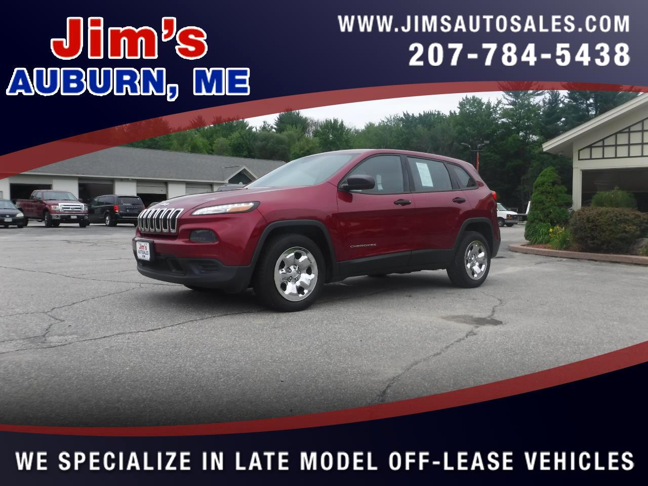 Jeep Cherokee FWD 4dr Sport 2014