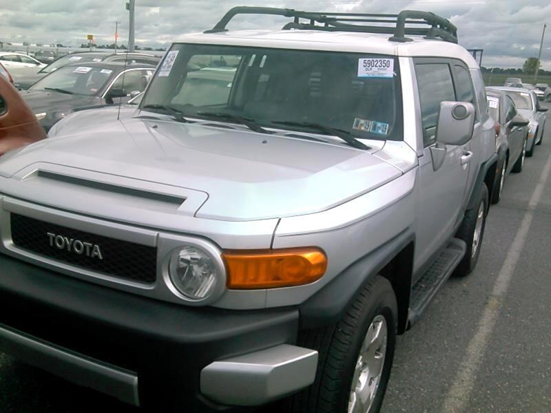 2007 Toyota FJ Cruiser 4WD AT