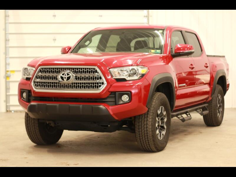 2016 Toyota Tacoma TRD Off Road Double Cab 5AT 4WD