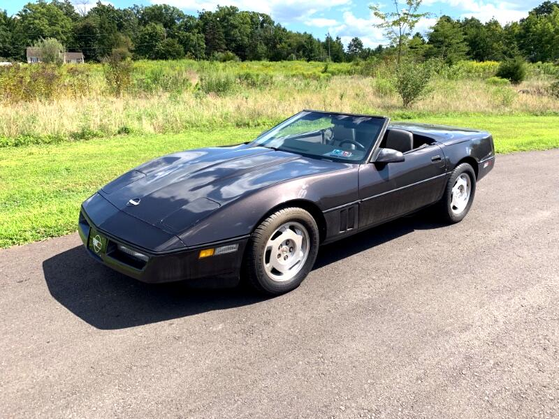 Chevrolet Corvette Convertible 1988