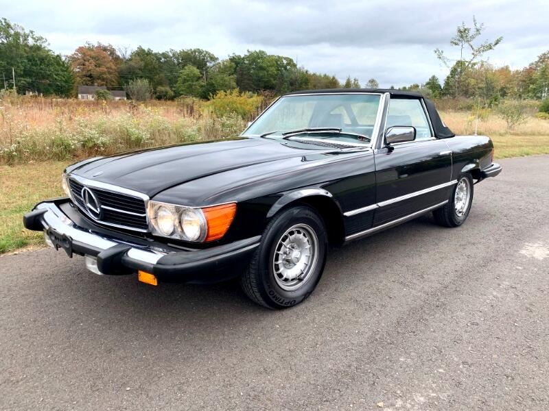 Mercedes-Benz 380 SL 1983
