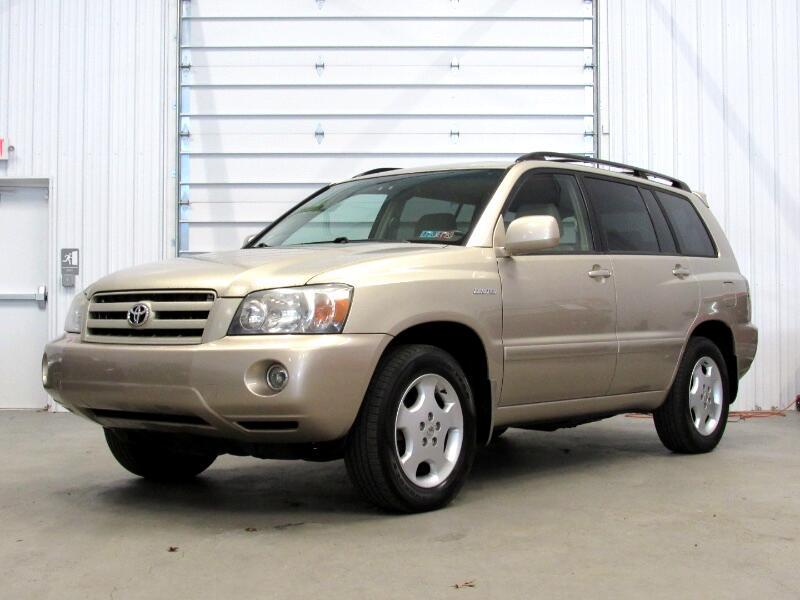 Toyota Highlander Limited V6 4WD 2006