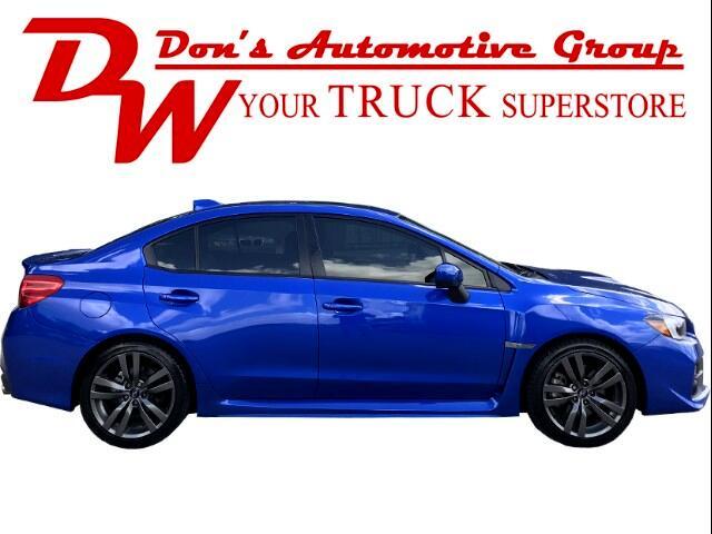 2017 Subaru WRX Limited 6M