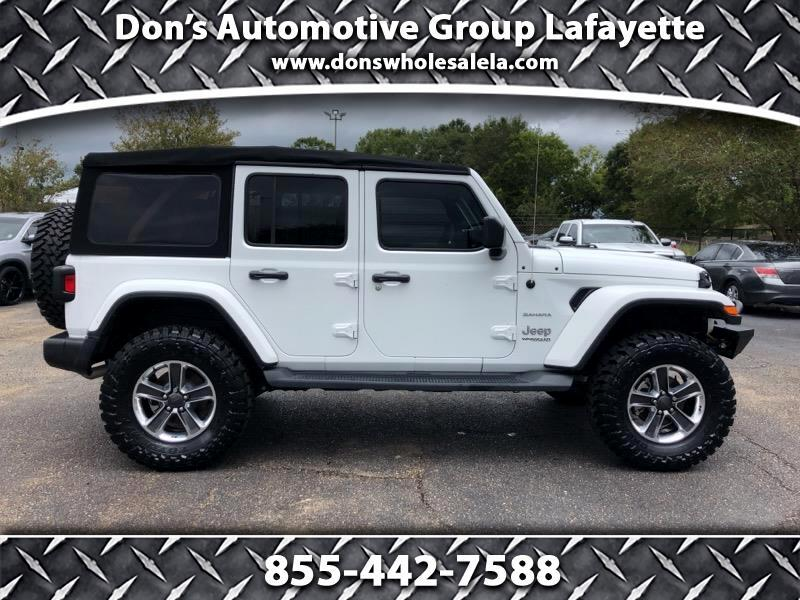 Jeep Wrangler 4WD 4dr Unlimited Sahara 2018