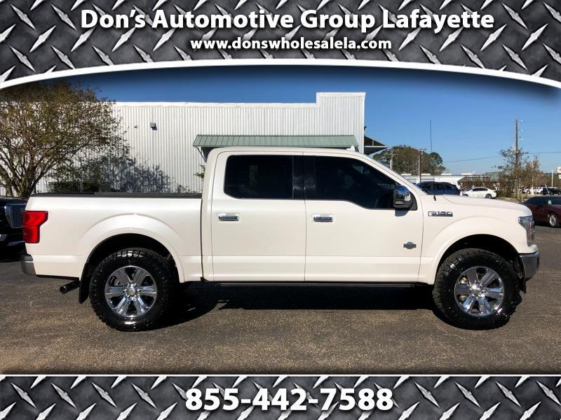 "Ford F-150 4WD SuperCrew 145"" King Ranch 2018"