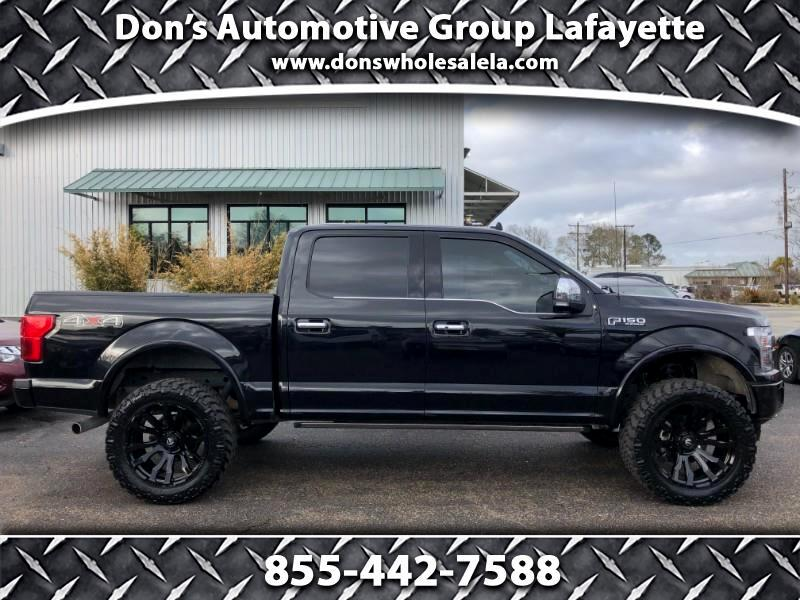"Ford F-150 4WD SuperCrew 145"" Platinum 2020"