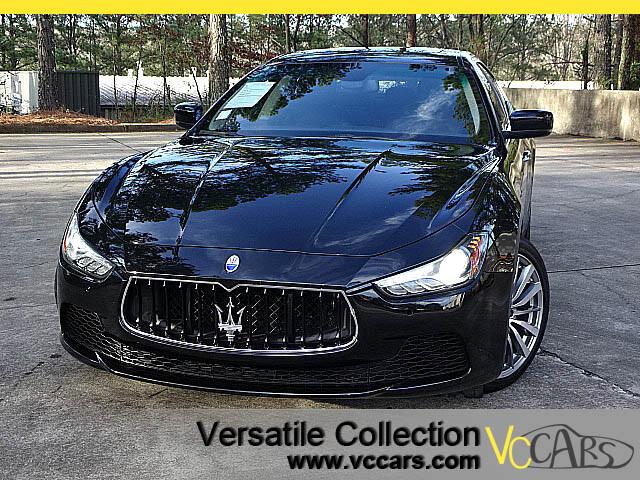 2015 Maserati Ghibli Luxury Tech Navigation Camera Sunroof
