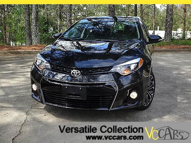 2015 Toyota Corolla S Plus Tech Navigation Sunroof 6 Speed Manual