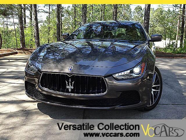 2014 Maserati Ghibli Sports Tech Navigation