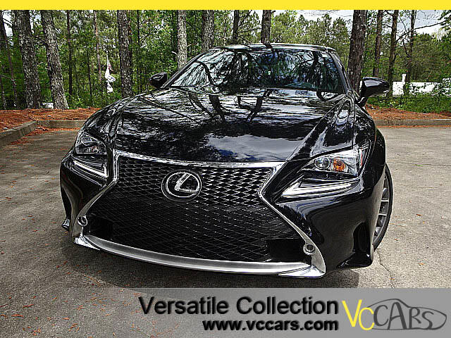 2015 Lexus RC 350 F Sports Tech Navigation Blind Spot Monitors