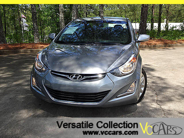 2015 Hyundai Elantra SE Popular Equipment Package Camera BT XM Alloys