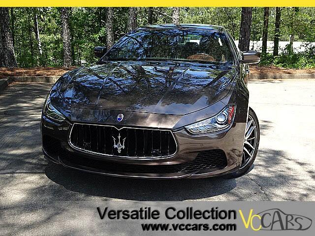 2014 Maserati Ghibli Sports Tech Navigation Heated Seats