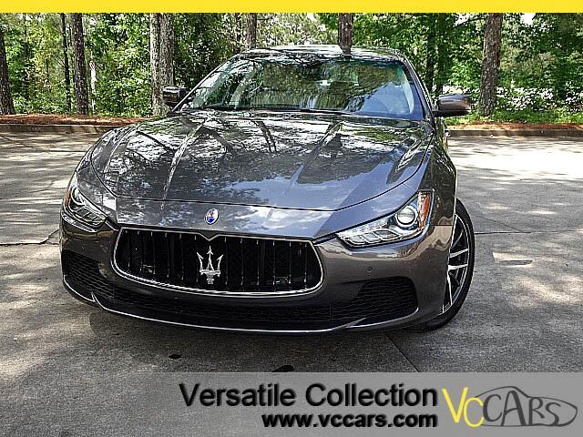 2014 Maserati Ghibli Sports Tech Navigation Heated Seats