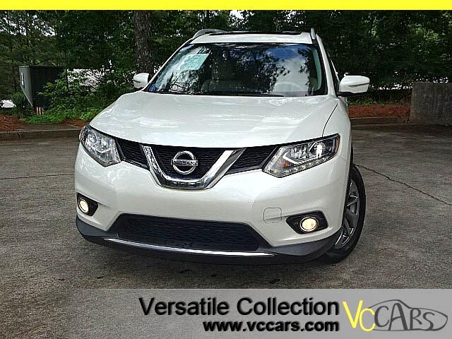 2015 Nissan Rogue SL Tech Navigation Panoramic Roof Bose Sound HID X