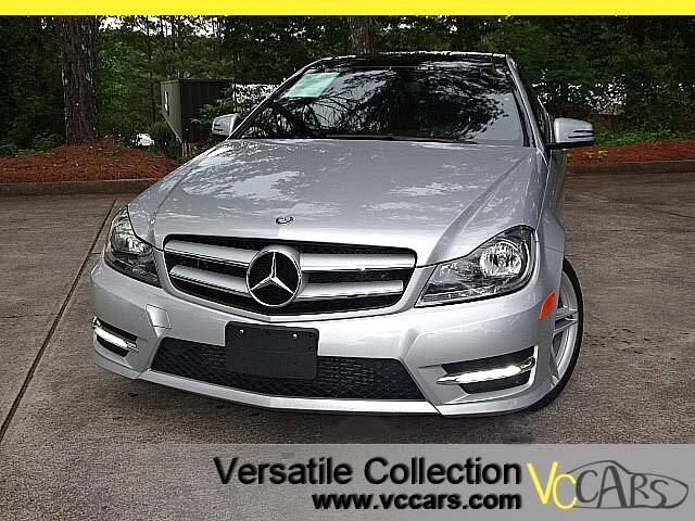 2013 Mercedes-Benz C-Class C250 Coupe Sports AMG Wheels Navigation Panoramic