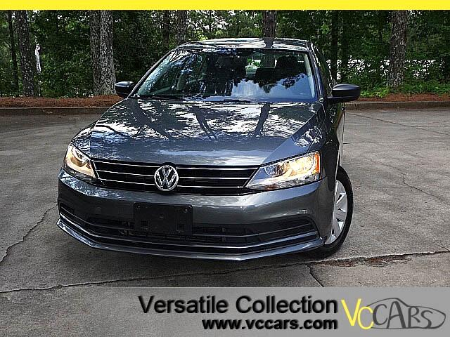 2015 Volkswagen Jetta S w/Technology Back Up Camera XM BT