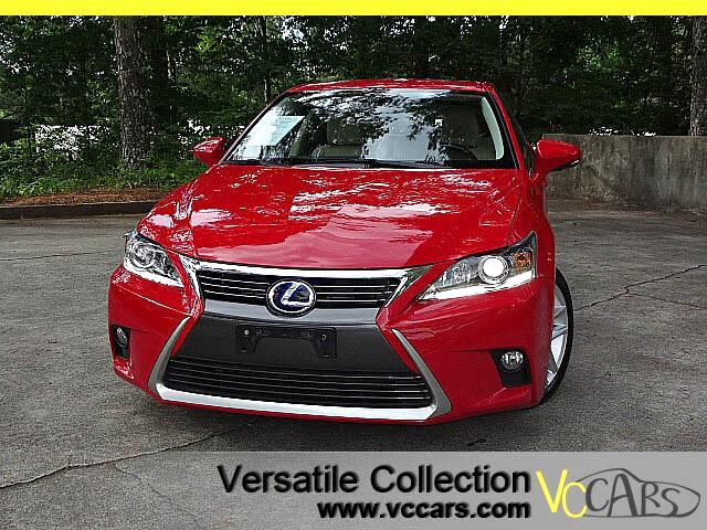 2015 Lexus CT 200h Leather Sunroof Heating Seats LED XM