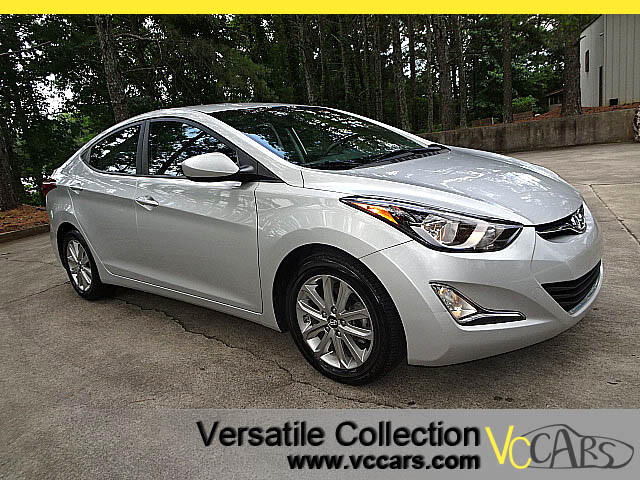 2015 Hyundai Elantra SE Preferred Equipment Package Camera XM BT Alloys