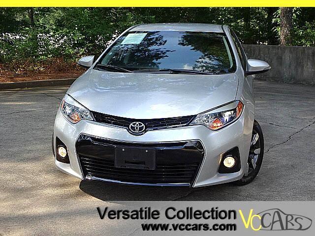 2015 Toyota Corolla S CVT