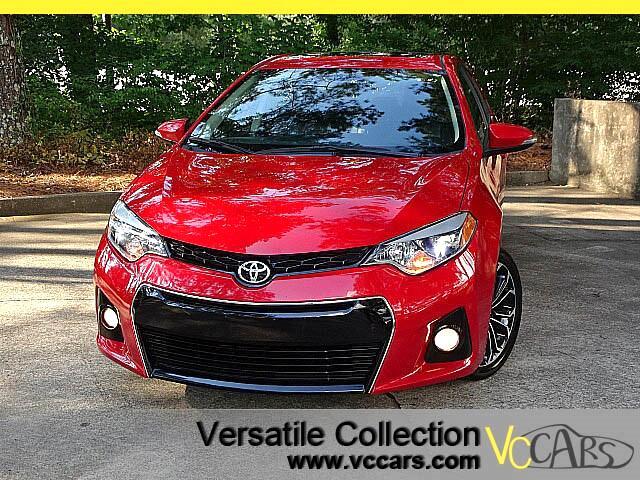 2016 Toyota Corolla S Premium Tech Navigation Sunroof Camera XM HID