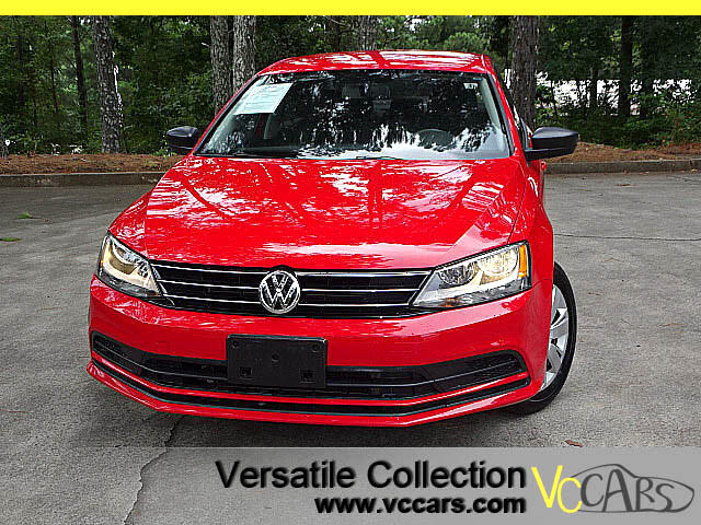 2015 Volkswagen Jetta Auto S w/Technology Package Back Up Camera XM BT
